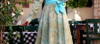 Ala Tesettür Elbise Modelleri
