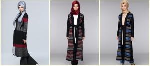 Tozlu Giyim Kışlık Tesettür Hırka Modelleri