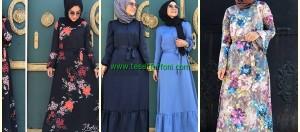 Uzun Yazlık Tesettür Elbiseler