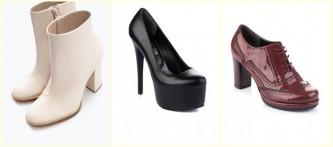 2016 Kışlık Topuklu Bayan Ayakkabı Modelleri