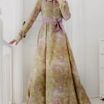 Ala tesettür renkli elbise