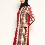 baha bordo etnik elbise