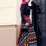 gamze polat şifon etnik etek modelleri