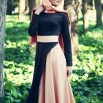 gamze polat siyah somon elbise modelleri