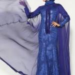pınar şems lacivert parlak abiye modelleri