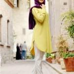 pınar şems sarı tunik