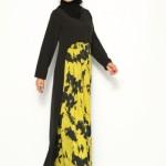 CML Collection sarı elbise modelleri