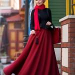 müslüma wear kloş etek modelleri