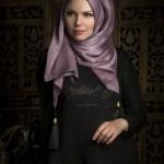 müslüma wear vizon püsküllü şal modelleri