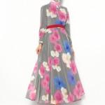 pita çiçekli elbise modelleri