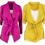 pembe sarı ceket modelleri