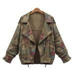 kamuflaj desen ceket modeli