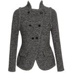 gri kısa ceket modeli