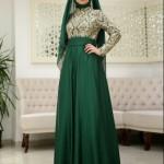 som fashion zümrüt yeşili abiye modelleri