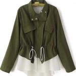 haki yeşil salaş ceket