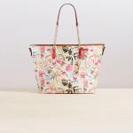çiçek desenli çanta modeli