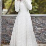 Sünnet annesi beyaz kıyafet