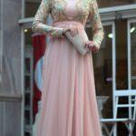 Sünnet annesi pembe abiye elbise