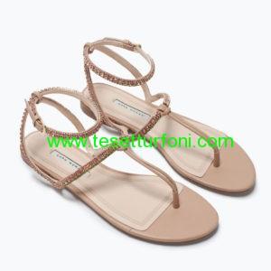zara sandalet modeli