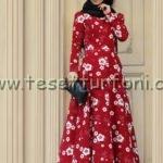 zehrace kırmızı elbise modelleri