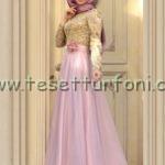 zehrace pudra abiye elbise modelleri