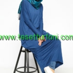 Everyday Basic Indigo Salas Tunik