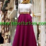 en guzel tesettur abiye elbise