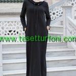 Bwest - Cepli Siyah Spor Elbise