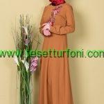Hardal Tesettur Elbise