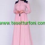Sefamerve Somon Tesettur Elbise