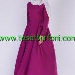 Uzun Tesettur Elbise Modeli